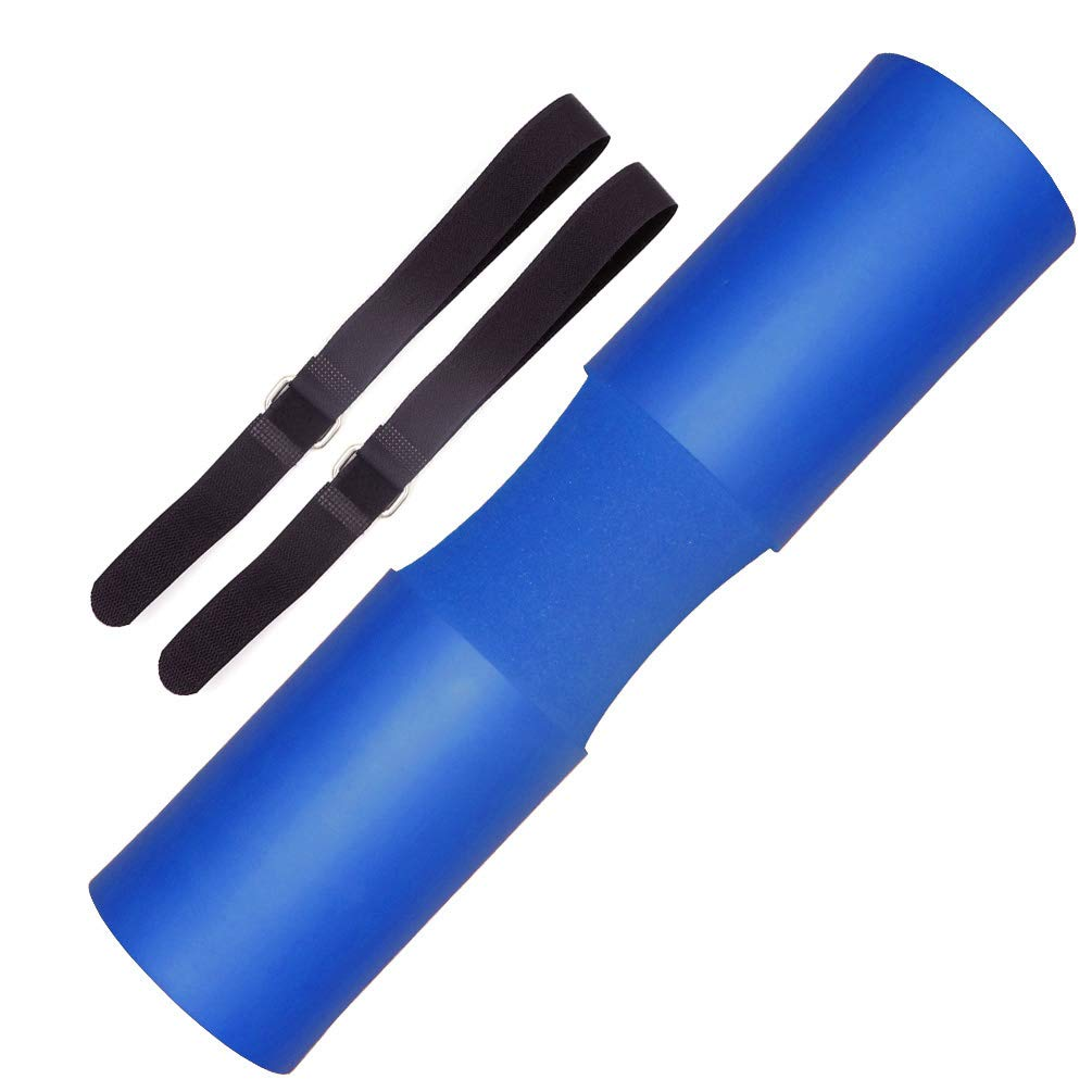 Greententljs Hip Thrust Pad Soft Foam Sponge, Olympic and Standard Barbell Squat Bar Padding - Neck Shoulder Support Protector Training for Squatting Weight Lifting Squats Training (Blue)