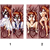 easyLife Anime Dakimakura Hugging Pillow Case The Life And Times Of Juniper Lee Pillow Cover Peach Skin Size 150*50Cm Bz0040