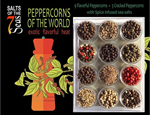 (Peppercorns of the World Sampler)