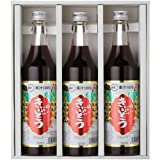 TasukuMiyuki # 52 gift set (100% fruit juice grape juice 600mlX3 pieces)