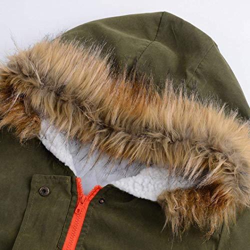 Colore Invernali Cappuccio Coulisse Puro Classiche Tasche Con Cappotti Donne Outwear Confortevole Casual Armeegrün Donna Cerniera Giacca Anteriori Outerwear Moda EwxntqnPYp