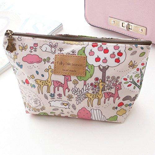 LULAN Cartoon cute Make-up Bag wasserdichte Paket kleine Taschen von Broken Flowers Paket ändern, 22*8*13 cm, Hellgelb 3017 Cartoon