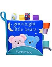 Xiaoyu Soft Fabric Baby Cloth Books Early Education Toys Activity Cloth Book
