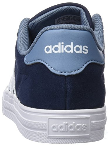 adidas Unisex-Kinder Daily 2.0 Sneaker Blau (Collegiate Navy/Footwear White/Raw Grey)