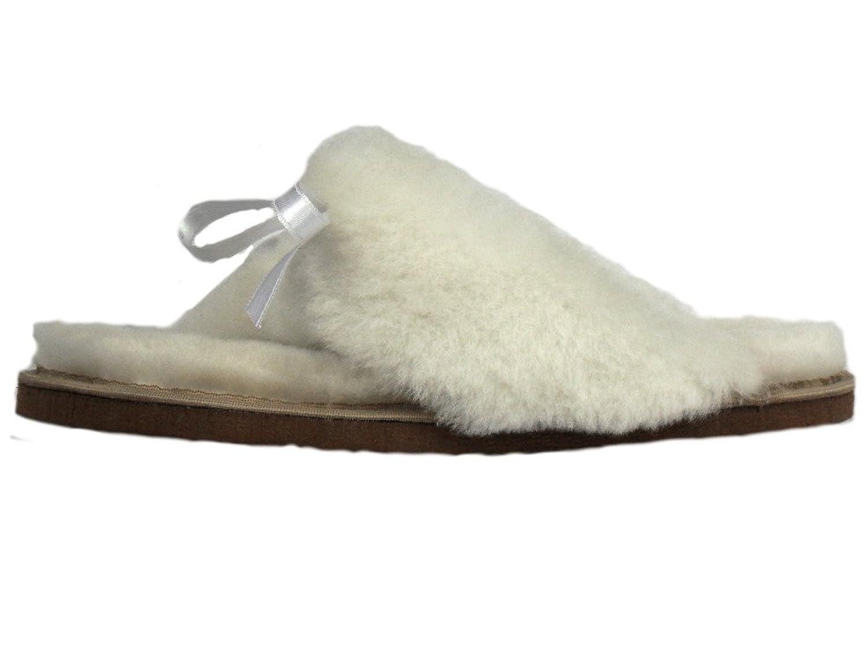 AM artmoda Lammfell Zehen-Sandale