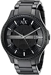 Armani Exchange Men's AX2173 Analog Display Analog Quartz Black Watch