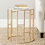 Safavieh Home Collection Doreen Gold Accent Table