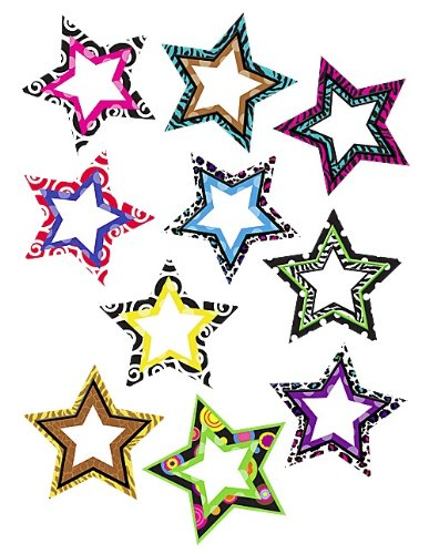 Teacher Created Resources Fancy Stars Accents ()