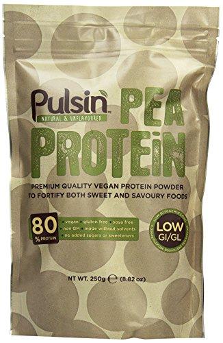Pulsin' Erbsenproteinisolat 250g, 1er Pack (1 x 250 g)
