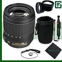 Nikon 18-105mm VR Nikkor Lens Greens Camera Package 3