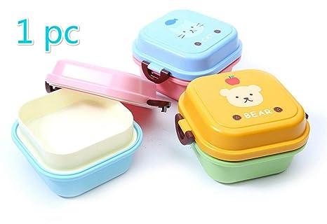 Upstudio Caja de Desayuno lonchera Mini Nevera portátil para niños Mini portátil portátil para niños