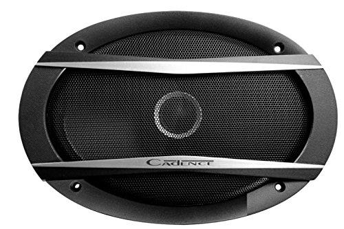 Cadence QSL69 6x9 2-Way 130W Slim Speakers (Way 2 Coaxial Thin)
