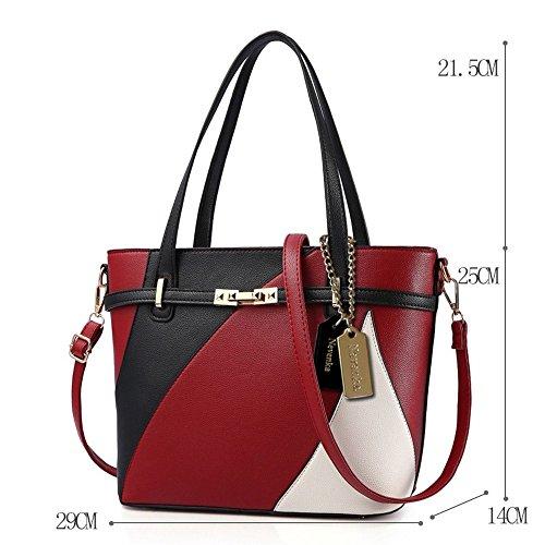 Femmes Cuir Main Chaînes Luxe Mode Messenger Design Femelle Zxystbc Style Zipper À nbsp;nouveau C En Tote Paillettes D Sac Pu De Sacs Qualité Bag wEqvRXP
