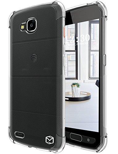 LG X Venture Case, LG X Calibur Case, LG V9 Case, MP-MALL [Slim Thin] Flexible Clear TPU Gel Rubber Soft Skin Silicone Protective Case Cover For LG X Venture - Mall Ventura
