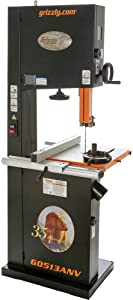 """Grizzly Industrial G0513ANV - 17"""" 2 HP Bandsaw - 35th Anniversary Edition"""