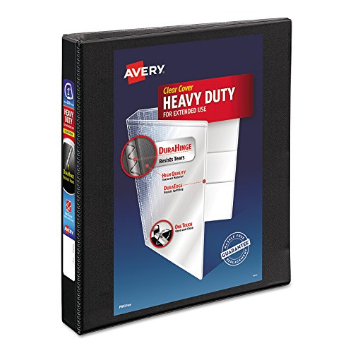 Avery Heavy-Duty Nonstick View Binder, 1
