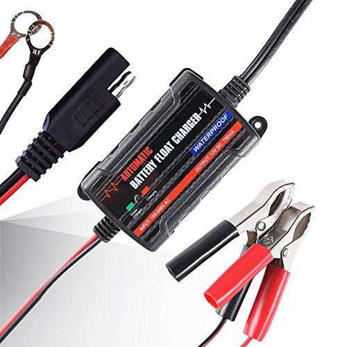 Input 100V-240V Output 6V/12V Car Battery Charger Motorcycle Trickle Charger 0.75A Float Lead Acid Battery Maintainer