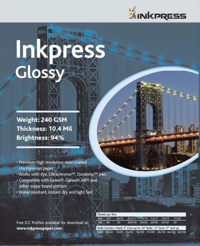 Inkpressフォトクロムインクジェット光沢紙36