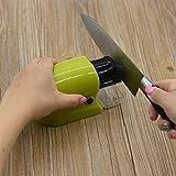 Profesional Sistema de cerámica cuchillo afilador piedra de afilar cocina herramienta eléctrica para afilar herramientas