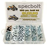 120pc Specbolt Suzuki LT250R Quadzilla ATV Bolt Kit for Maintenance & Restoration OEM Spec Fasteners Quadracer LT500R LTR250 LT 250 500 R