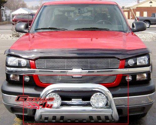 2006 Chevrolet Avalanche Bolt (APS BB-CAK001S Chrome Bull Bar Bolt Over for select Chevrolet Avalanche 1500 Models)