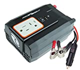 PowerBright XR400-12 Power Inverter 400 Watt 12 Volt DC To 110 Volt AC with USB Charging Port