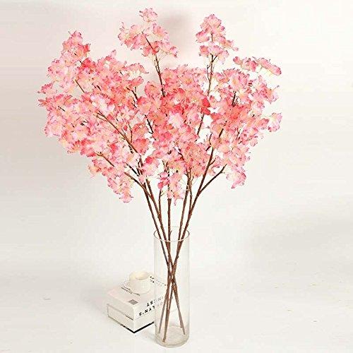 UNAKIM--Silk Wedding Decor Fake Flower Artificial Bouquet Home Floral Garden Party - Mall Jersey Gardens Sales