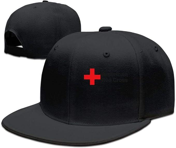 Gorros de la Cruz Roja Americana Populares Gorra Plana a lo Largo ...