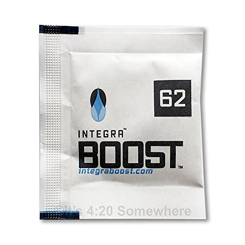 INTEGRA BOOST 62-Percent RH 2-Way Humidity Control Pack, 8 gram - 12 (Humidity Pack)