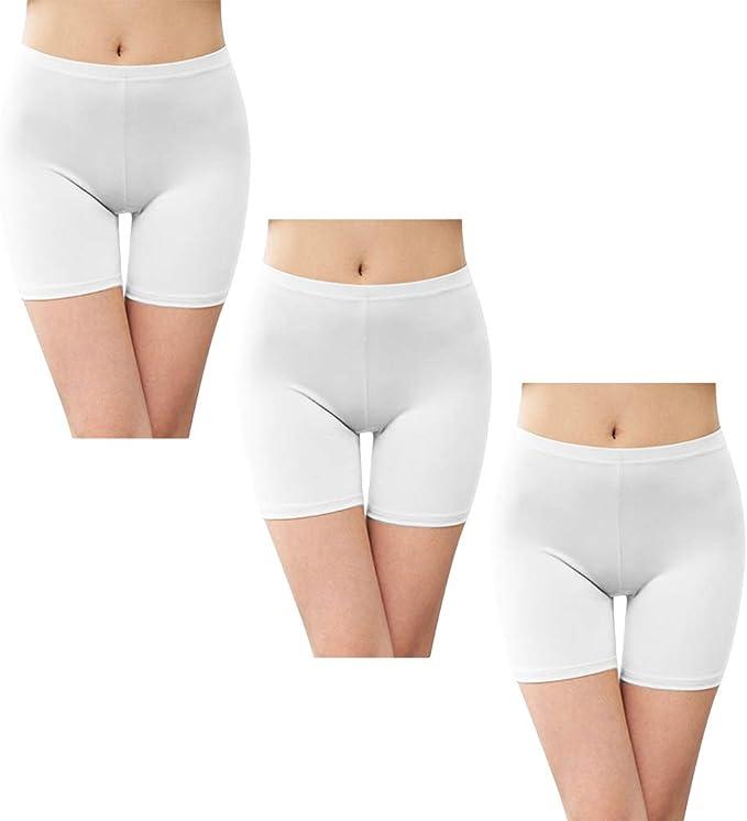 Leggings Cortos Pantalones de Seguridad para Mujer Leggins ...