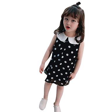 Vestido De Princesa Para Niñas Y Bebés Sin Mangas Con