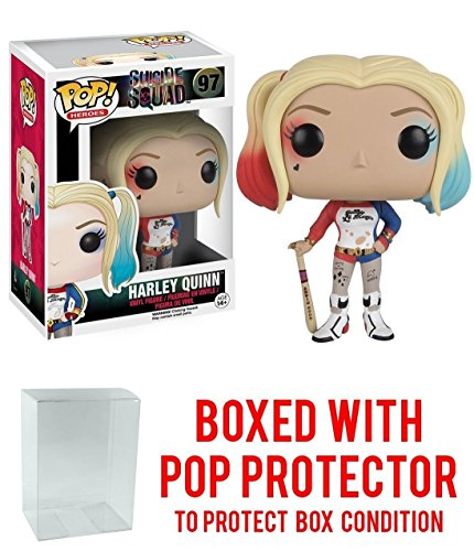 Suicide Squad Harley Quinn Funko Pop Vinyl Toy With Box (Batman Arkham Asylum Costumes For Sale)