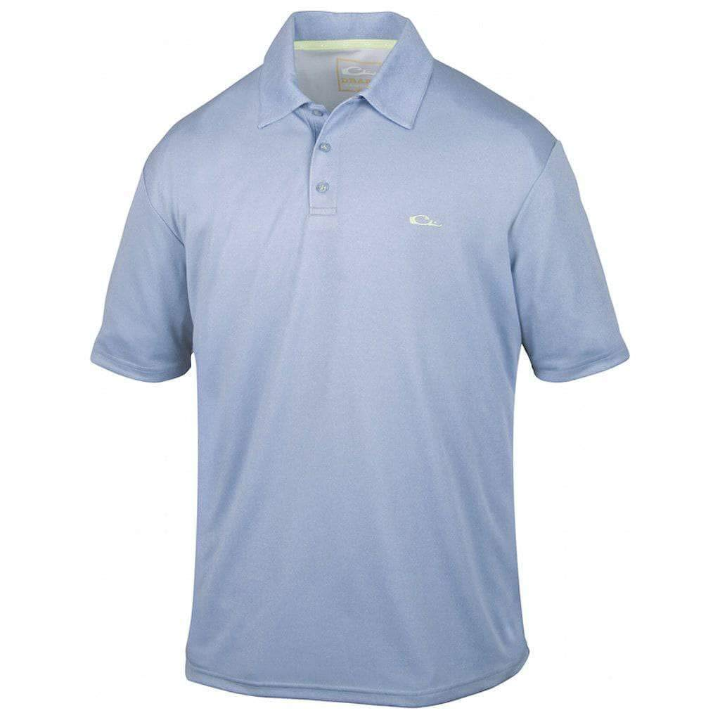 MENS Heathered Polo 2X