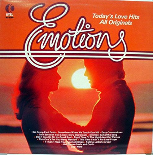 Emotions - Today's Love Hits, All Originals