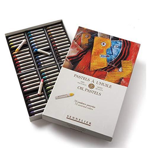- Sennelier Oil Pastel Assorted Set 72 Colors