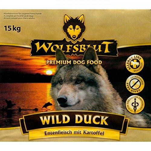 Wolfsblut Wild Duck - mit Ente und Kartoffeln - 15kg Sack