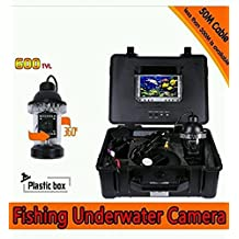 2015 Professional Fish Finder Underwater Fishing Video Camera with 7 LCD Monitor and 150 Feet Cable - Shipping by EXPRESS TO US
