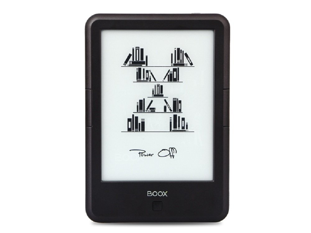 BOOX E-reader,6'' Glare-Free E Ink Touch Screen Display,Google Store Ebook Reader Built-in Light,Wi-Fi by BOOX
