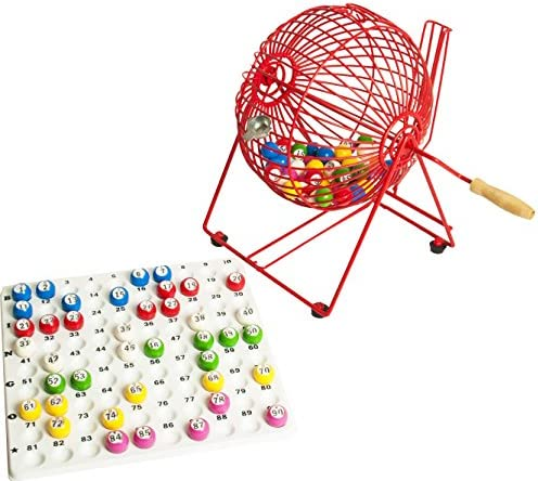 Bingo Cage Machine Tray & Balls by Thomas & Anca Club Supplies