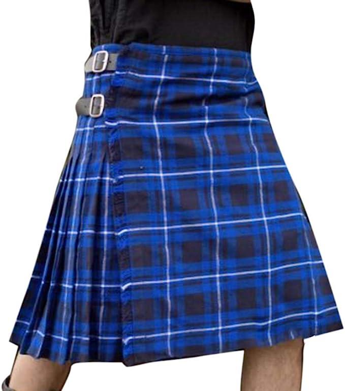 oneforus Falda Escocesa del Partido Kilt Hombres Kilt Falda ...