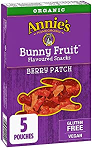 Annie's Homegrown Organic Berry Patch Bunny Fruit Snacks , 5-Count, 115 G