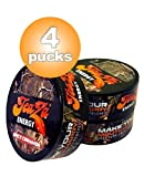 Teaza Herbal Energy Pouch Cinnamon 4 New Camo Pucks- Smokeless Tobacco Replacement