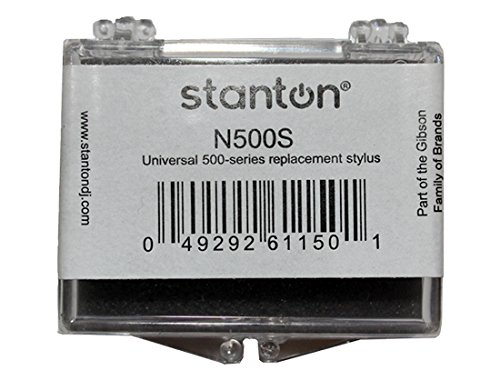 Stanton Single (Stanton N500S Universal 500 Series Replacement Spherical Stylus Needle For 500 & 505 Cartridges (single))