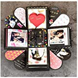 DIY Surprise Box Surprise Boxing Caja Explosion Scrapbook Photo Album with Kit for Valentine's Day Gift Box