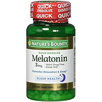 Natures Bounty Melatonin 3 Mg Quick Dissolve Tablets (Pack of 3)