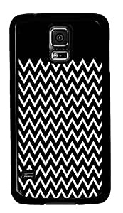 buy Samsung Galaxy S5 covers White Black Chevron PC Black Custom Samsung Galaxy S5 Case Cover
