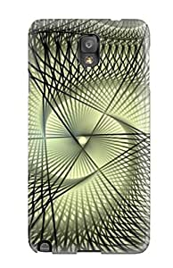 New Galaxy Note 3 Case Cover Casing(nice Cool Abstract )
