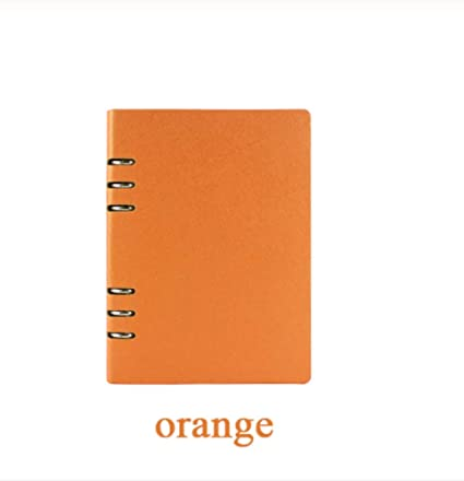 cuaderno tapa dura cuero espiral organizador a5 cuaderno de ...