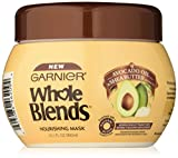 Garnier Whole Blends Hair Mask with Avocado Oil & Shea Butter Extracts, Dry Hair, 10.1 fl. oz.