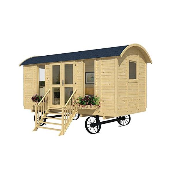 Best Epic Trends 51ZtfCJQ5uL._SS600_ Allwood Mayflower | 117 SQF Garden House, Cabin Kit